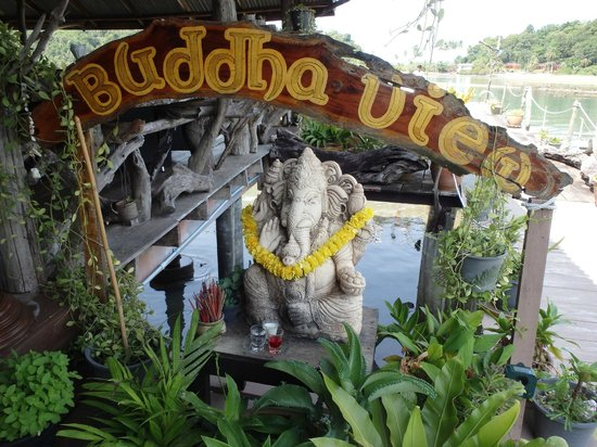 Buddha View : entrance