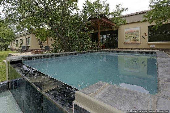 Turaco Lodge: the main pool
