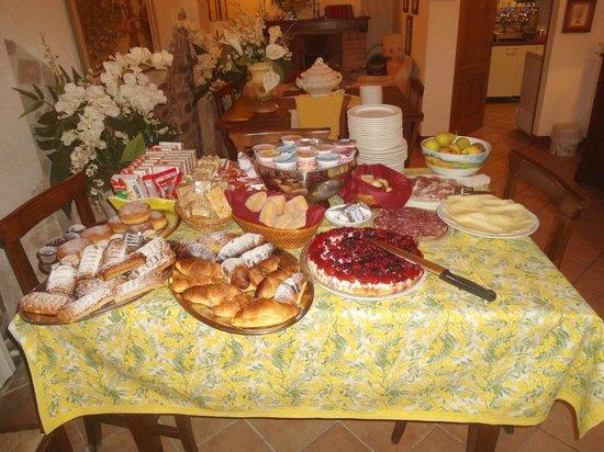 Locanda La Mandragola: la colazione