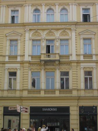Ventana Hotel Prague: Hotel