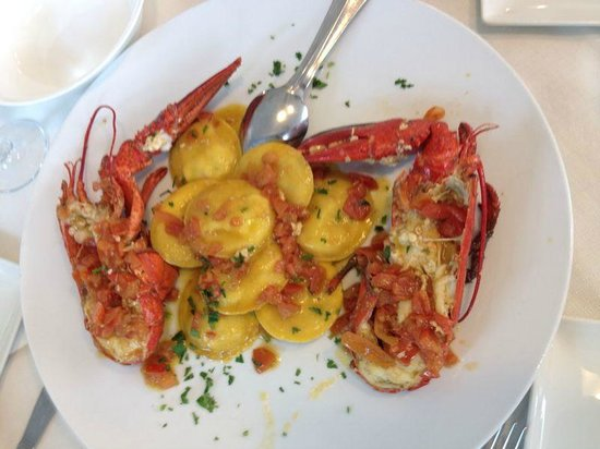 Primo di pesce asparagi e scampi foto di ristorante giardino ancona tripadvisor - Ristorante il giardino ancona ...