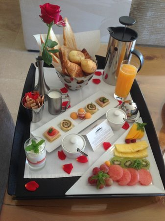 Atlanticview Cape Town Boutique Hotel : Simply beautiful breakfast tray
