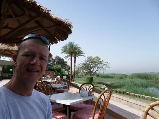 Maritim Jolie Ville Kings Island Luxor: breakfast on the terrace