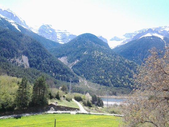 Caseron Baruca: Valle de Pineta - vista desde el caseron