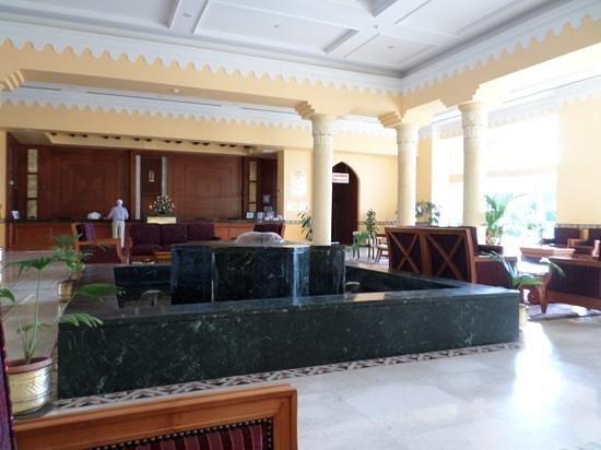 Maritim Jolie Ville Kings Island Luxor: the beautiful reception area