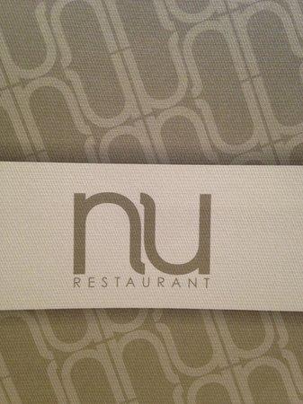 Nu Restaurant: Logo