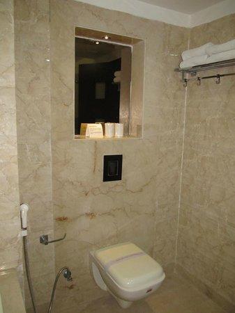 Hotel Le Roi: toilet