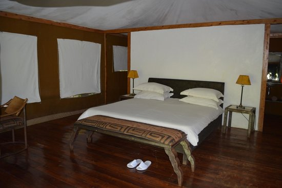 Rhino River Camp: Huge rooms with all the comforts possible