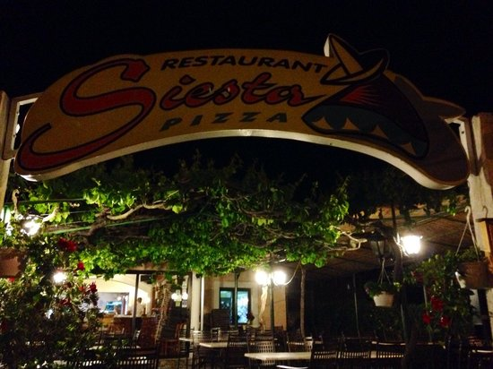 Restaurant Siesta : Siesta