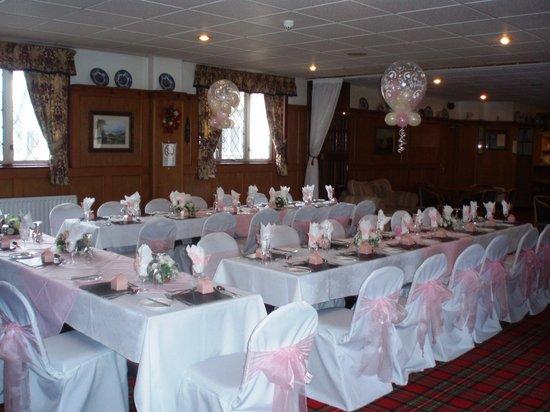 Hunters Lodge Hotel: wedding reception