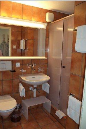 Hotel Postillon: Bath