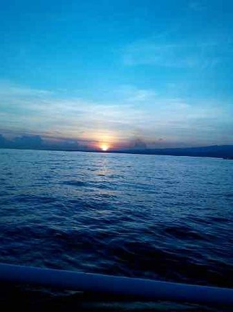 Lovina Beach: the sunrise