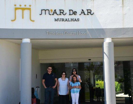 M'AR De AR Muralhas : Entrada do Hotel