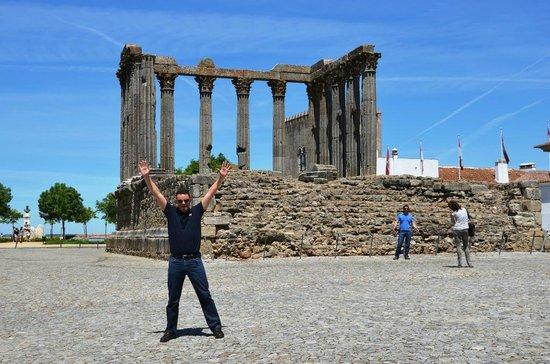 M'AR De AR Muralhas : Templo de Diana