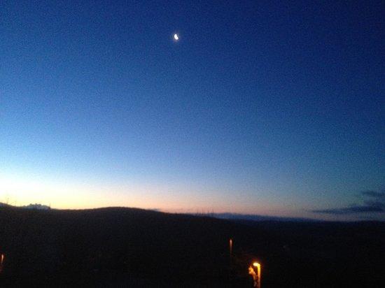 Podere Villuzza : Alba con Luna