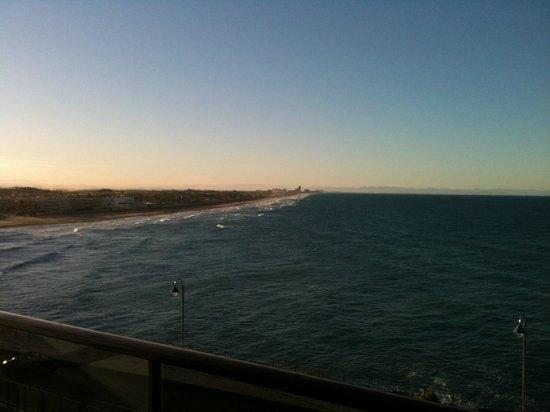 Aparthotel El Faro : Vista playa