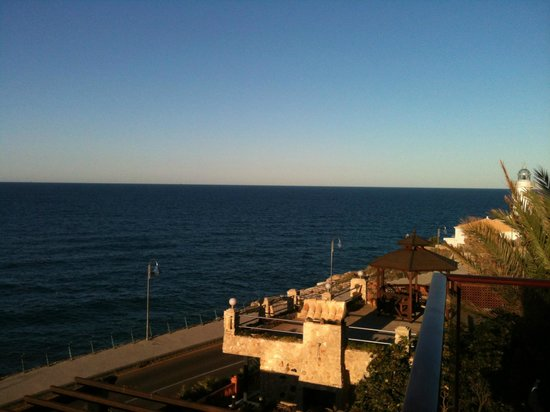 Aparthotel El Faro : Vista mar