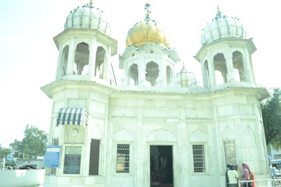 Gurudwara Ramsar Sahib: the beauty full building