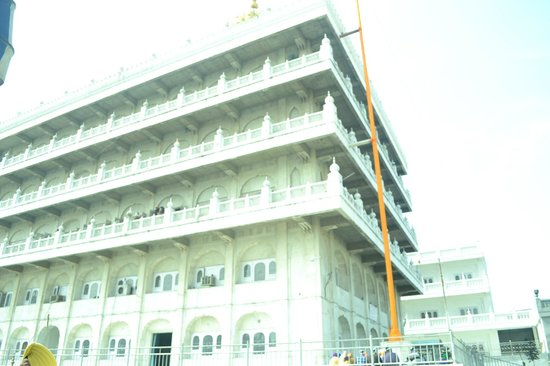 Gurudwara Ramsar Sahib: building where guru granth sahib printed