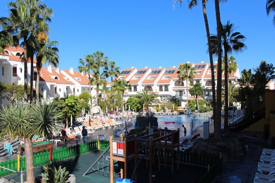 Paradise Park Fun Lifestyle Hotel : Blick auf Kinderpool