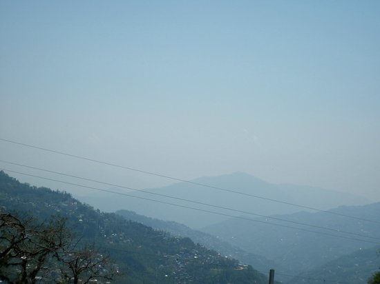 The Elgin Nor-Khill, Gangtok: view from the room window