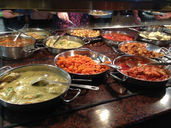 Paradise Park Fun Lifestyle Hotel : große Auswahl an Essen