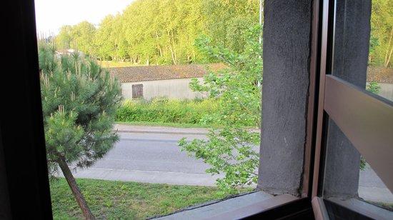 Adonis Carcassonne - Residence la Barbacane: Vista desde habitación.