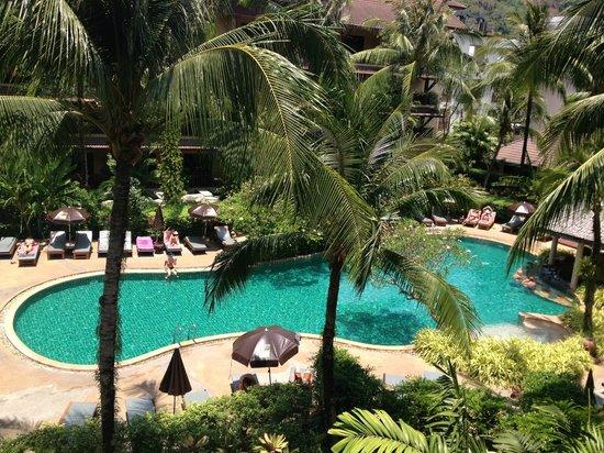 Kata Palm Resort & Spa : The pool area