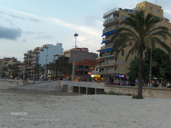 Playa de Palma, El Arenal (Platja de Palma, s'Arenal): El Arenal promenada