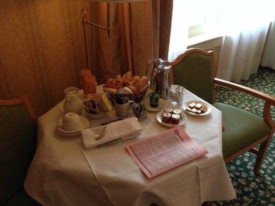 Disneyland Hotel : déjeuner
