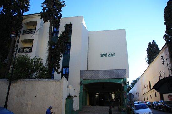 Hotel Batha : 入口