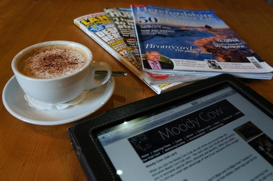 The Moody Cow : Coffee break