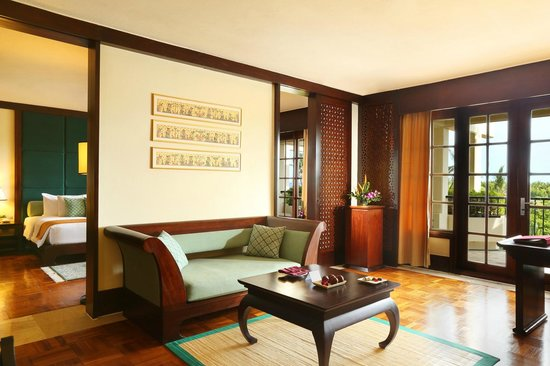 Ayodya Resort Bali: Ayodya Suite Livingroom