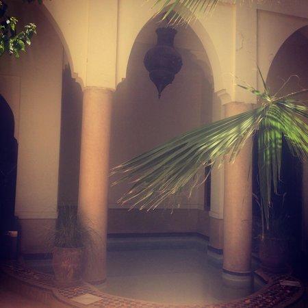 Riad Al Faras: Plunge pool