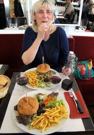 Gai Moulin Bistro : hamburger maison