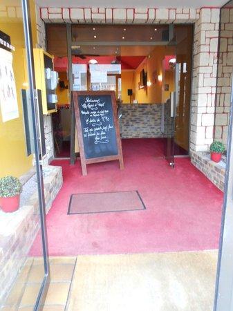 Chez Ingrid & Franck : Entrée du restaurant