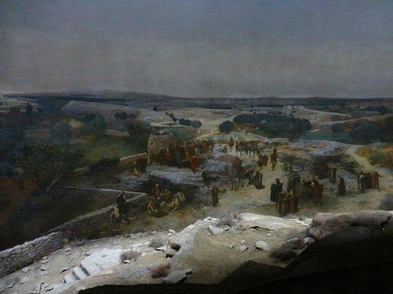 Jerusalem Panorama: Auszug vom Rundum Endlosbild