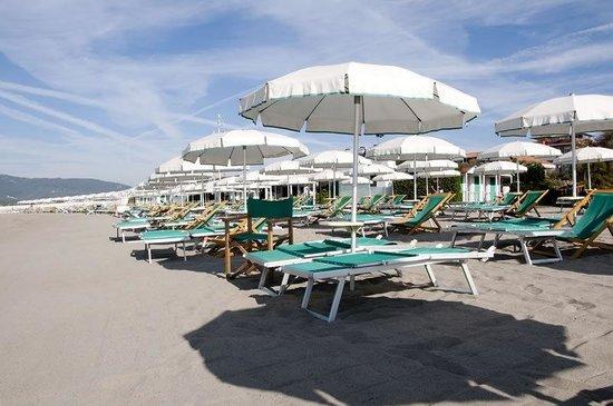 Marinella di Sarzana, Italia: Ombrellone