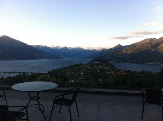 Hotel Il Perlo Panorama: vista dalla terrazza
