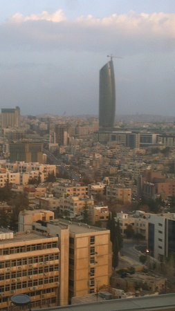 Le Royal Hotel Amman : Uitzicht over Amman