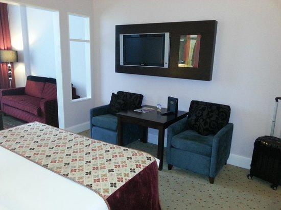 Carlton Hotel Blanchardstown : Large TV