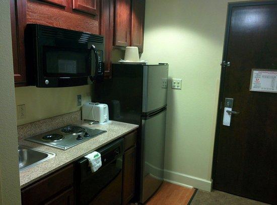 Ecco Suites: Küchenzeile