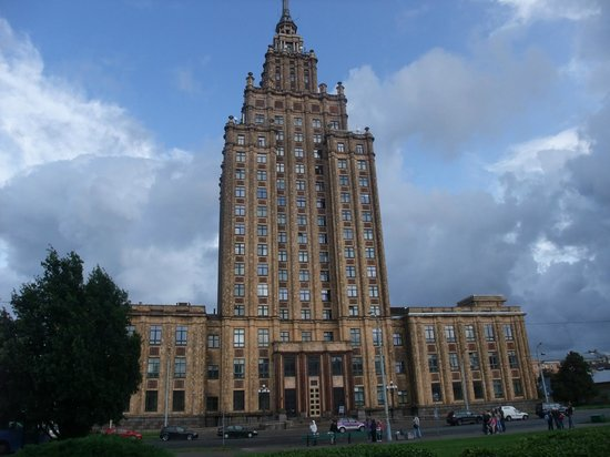 Panorama Riga Observation Deck : Like The Gotham City