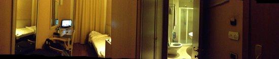 Hotel Terminal: camera singola visuale 360 gradi