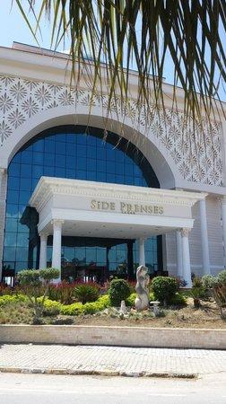 Side Prenses Resort Hotel U0026 Spa: Ingang Hotel