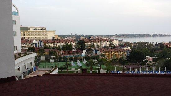 Side Prenses Resort Hotel & Spa: uitzicht naar Side