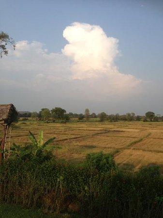 The Hideout Sigiriya: view from upstairs main building