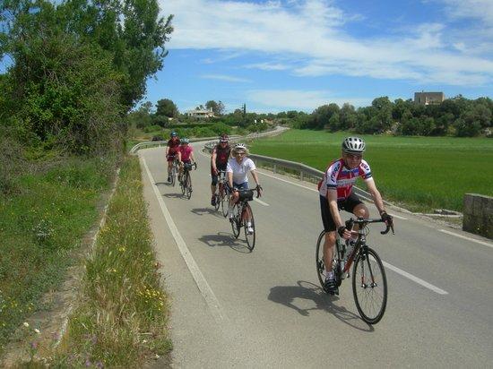 PortBlue Club Pollentia Resort & Spa : Cyclists paradise