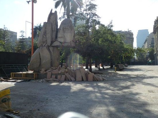 Plaza de Armas: interesting artwork
