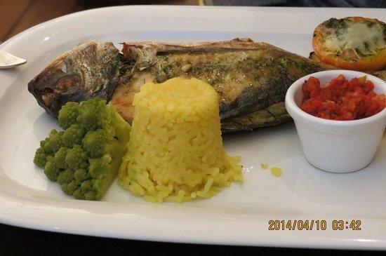 Sluizer Restaurants: 魚料理(鯛)